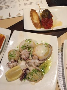 appetizers seafood tapas