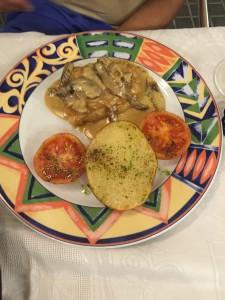 Fish mushroom Barcelona