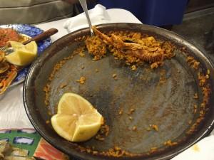 seafood paella Barcelona spain