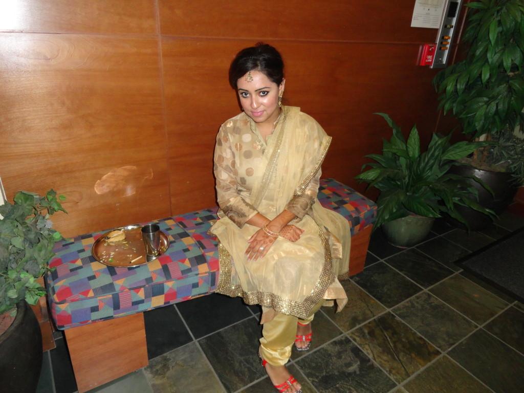 golden salwar kameez
