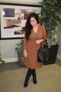 suuchi custom wrap dress